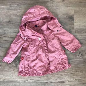 🌸2/$25🌸 Adorable wind/rain jacket.